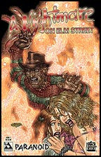 NIGHTMARE ON ELM STREET: Paranoid #1 Blood Red Con