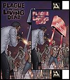 PLAGUE OF THE LIVING DEAD #1 John Russo Signed