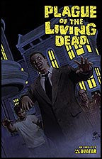 PLAGUE OF THE LIVING DEAD #4 Painted