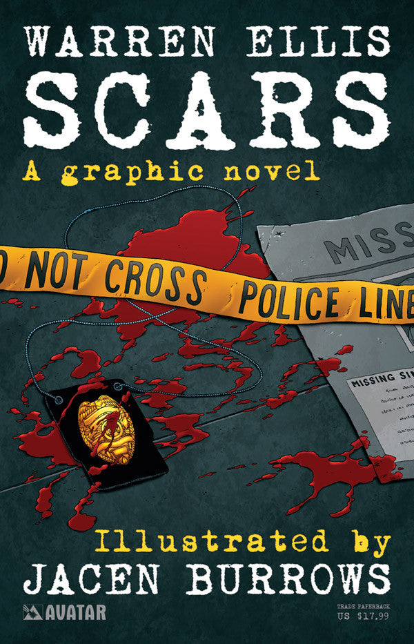 Warren Ellis SCARS TPB