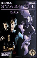 Stargate SG-1 2006 Convention Special San Diego Gold Seal