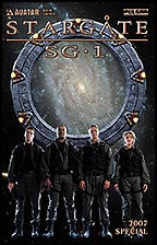 STARGATE SG1 2007 Special Team Photo