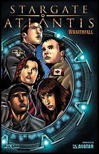 Stargate Atlantis Preview Gold Foil