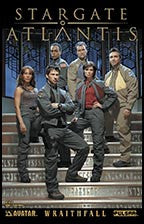 STARGATE ATLANTIS: Wraithfall #1 Team Photo