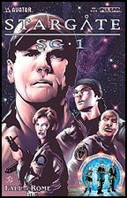 STARGATE SG-1: Fall of Rome #1 Prism Foil