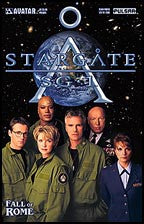 STARGATE SG-1: Fall of Rome Prequel Team Photo