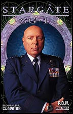 STARGATE SG-1: POW #3 Photo cover