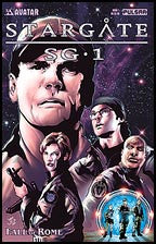 Stargate SG-1 Fall of Rome #1 Platinum Foil