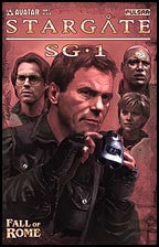 STARGATE SG-1: Fall of Rome #2 Gold foil
