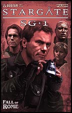 STARGATE SG-1: Fall of Rome #2 Platinum Foil