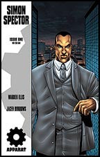 Warren Ellis' SIMON SPECTOR #1