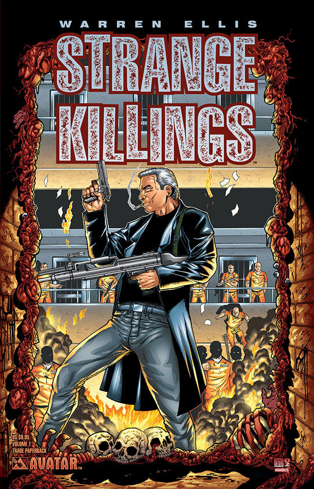Warren Ellis STRANGE KILLINGS TPB