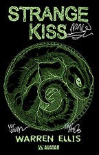 Warren Ellis' STRANGE KISS #1 Signed Leather