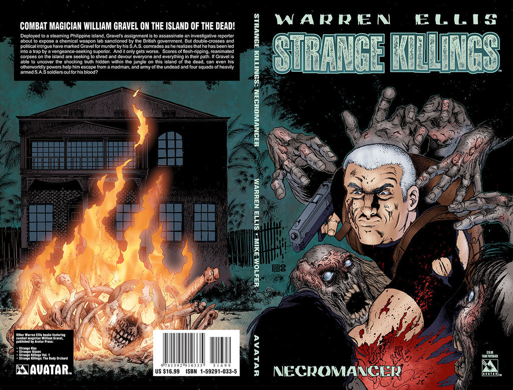 Warren Ellis STRANGE KILLINGS: NECROMANCER TPB