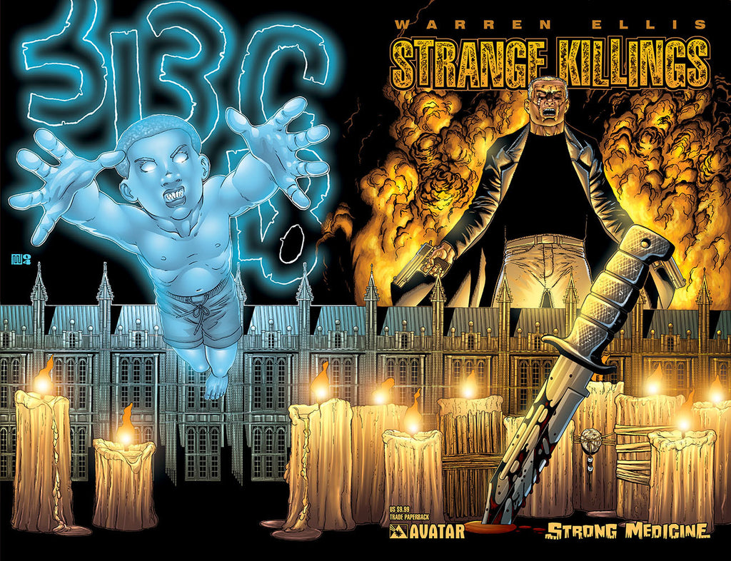 Warren Ellis STRANGE KILLINGS: STRONG MEDICINE TP