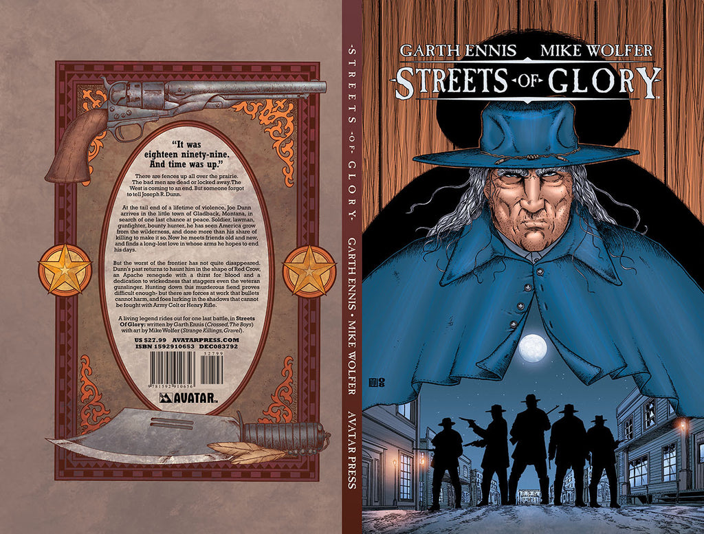 STREETS OF GLORY  Hardcover