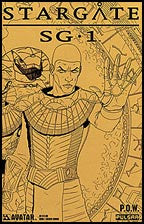 STARGATE SG-1: POW #1 Golden Armor Sketch Edition
