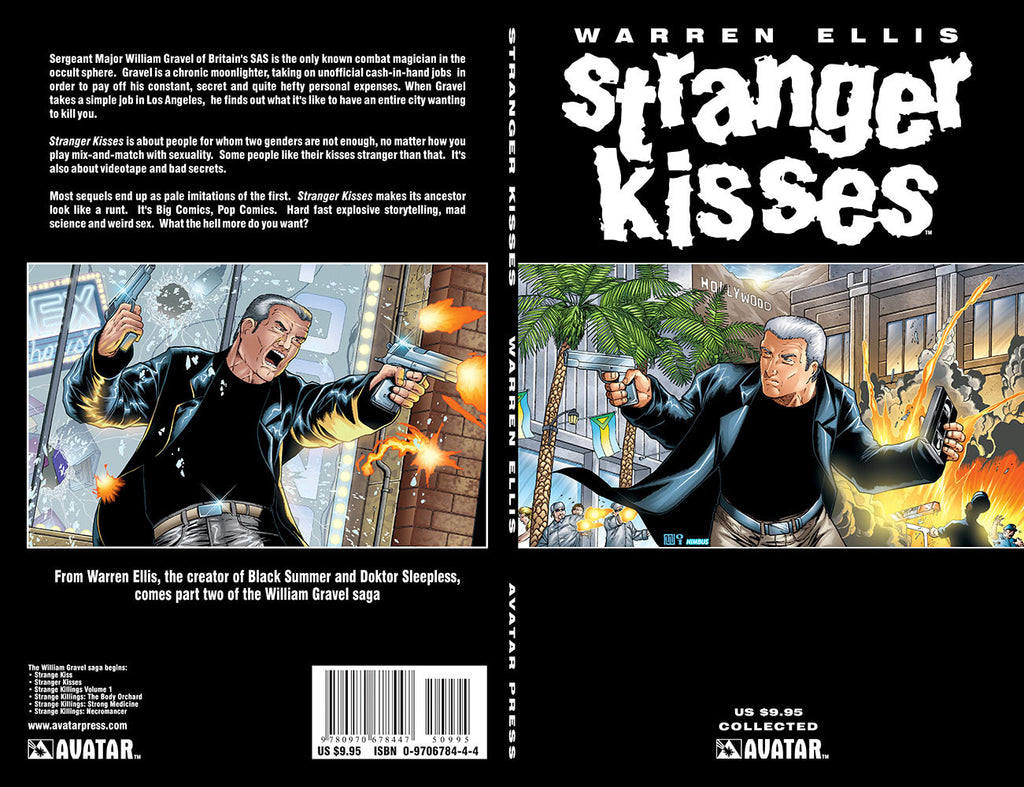 Warren Ellis STRANGER KISSES TPB