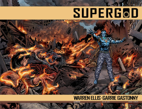 SUPERGOD #2 Wraparound
