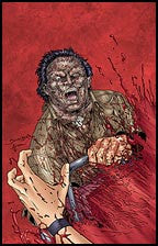 TEXAS CHAINSAW MASSACRE: The Grind #2 Die Cut