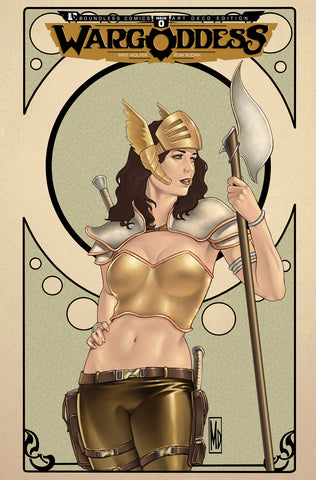 WAR GODDESS #0  Art Nouveau