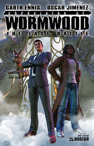 CHRONICLES OF WORMWOOD: The Last Battle #1 - Digital Copy