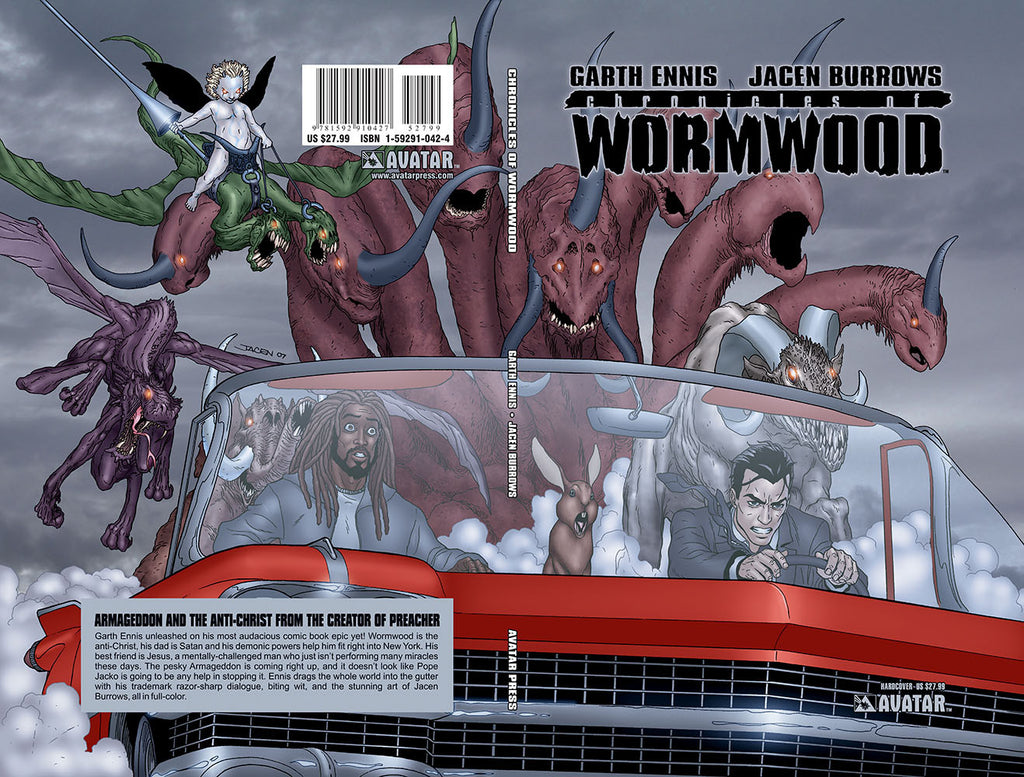CHRONICLES OF WORMWOOD Vol 1 Hardcover