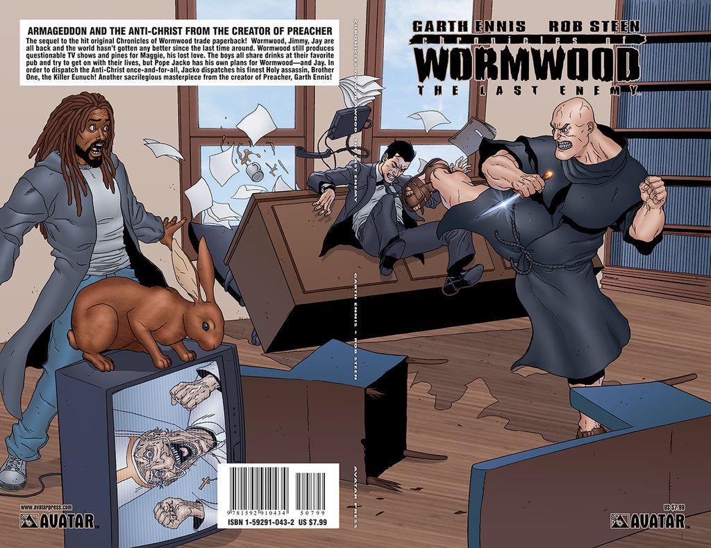 CHRONICLES OF WORMWOOD: The Last Enemy Original Graphic Novel