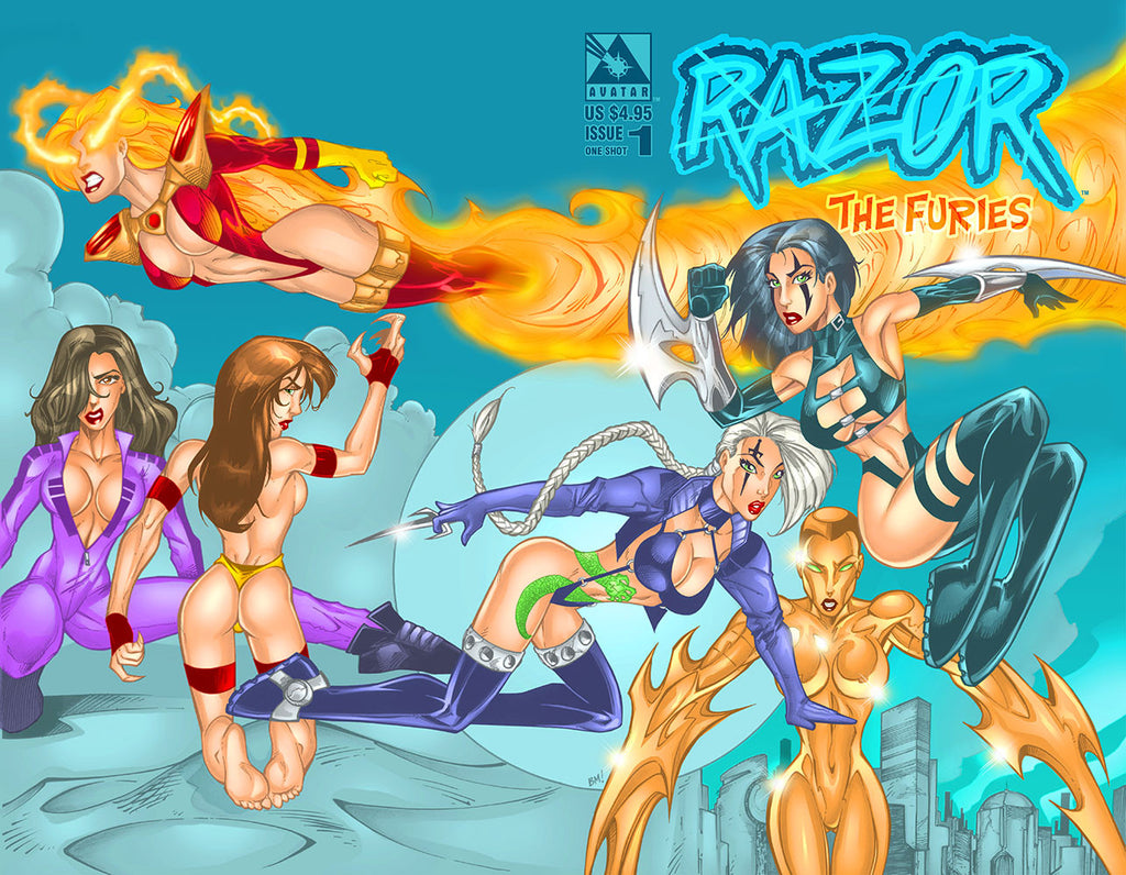 Razor: The Furies 1 Wraparound