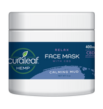 Cura Leaf Relax Face Mask with CBD - Calming Mud