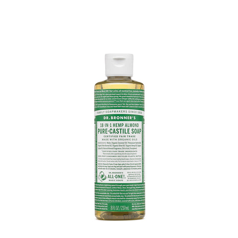 Dr. Bronners Pure-Castile Liquid Soap – Almond