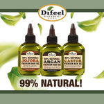 Difeel Hemp 99% Natural Hemp Hair Oil - Pro-Growth 7.78 ounce