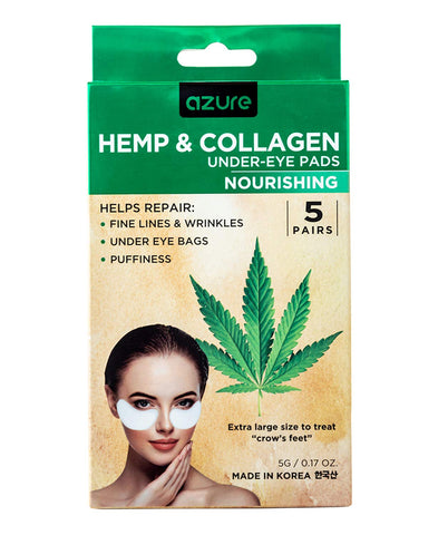 Azure Hemp & Collagen Under-Eye Pads