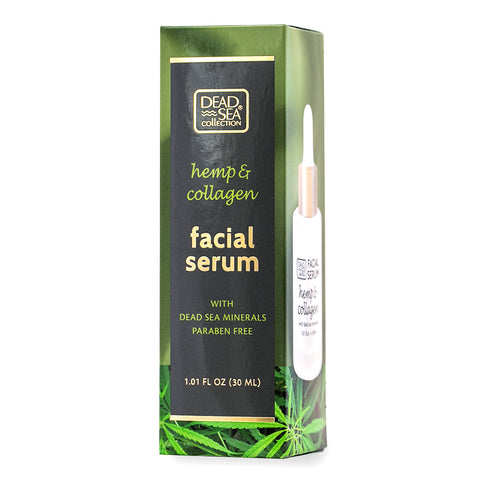 DeadSea Hemp & Collagen Facial Serum with Natural Dead Sea Minerals