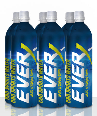 Everx unflavored 6 pack water