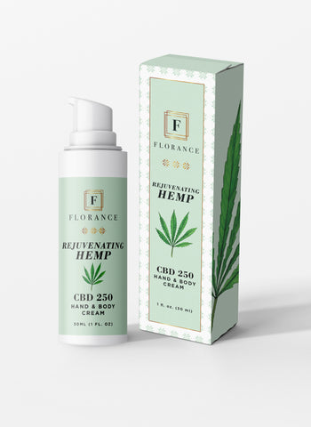 Florance Hemp CBD Skin Rejuvenating Cream – 250mg