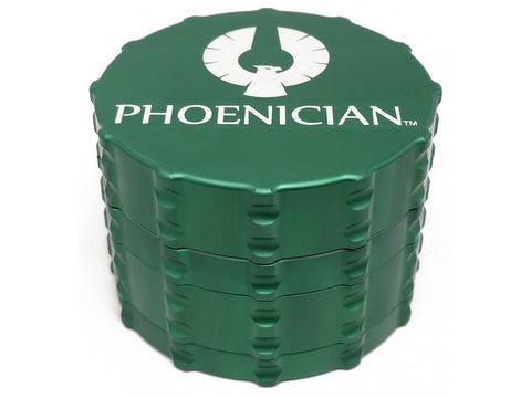 Phoenician Engineering 4pc Grinder Lg w/ Std Lid Forrest Green