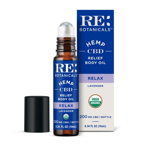 RE:Botanicals Relief Body Oil Relax (Lavender)