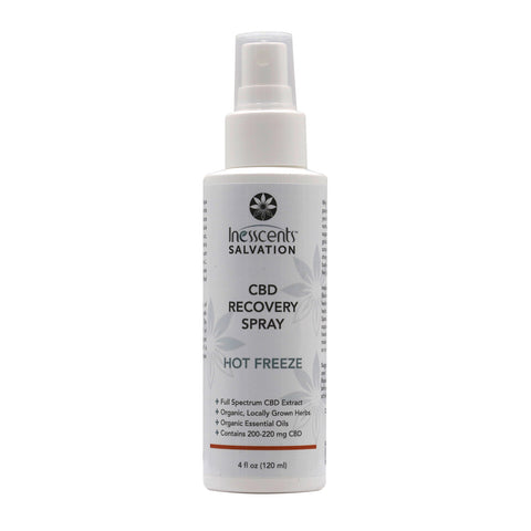 Inesscents Salvation CBD Hot Freeze Recovery Spray