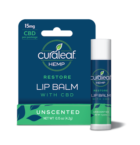 Curaleaf Lip Balm with CBD