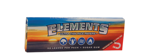 Elements  1 1/4 | Ultra Thin Rice Papers