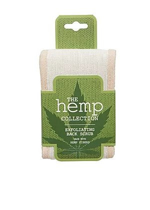 The Hemp Collection Exfoliating Back Scrub by Evriholder