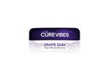 The Cure Brand Cüre Vibes Grape Gum 10mg CBD
