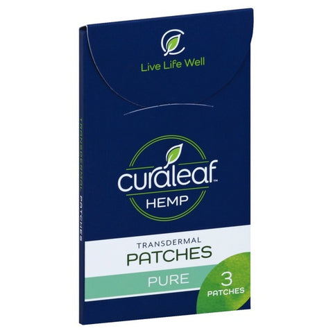 CuraLeaf Transdermal Patches (300mg/3patches)