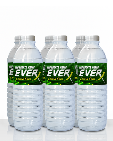 Throwback Everx Lemon Lime Flavored CBD Water (6 pack)