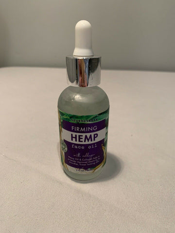 TrueBotanix Firming Hemp Face Oil (2 oz)