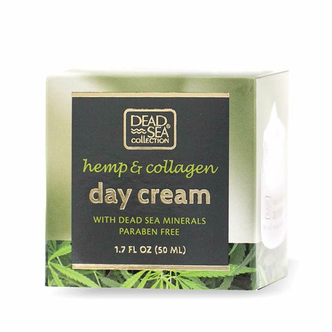 Dead Sea Collection Day Cream with Hemp and Collagen