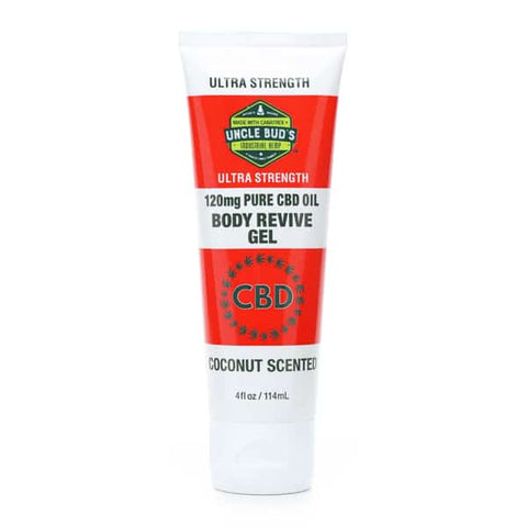 Uncle Bud's 120mg CBD Body Revive Gel