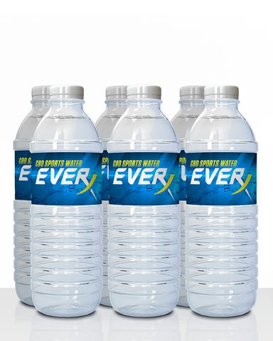 Throwback Everx Unflavored CBD Water (6 pack)