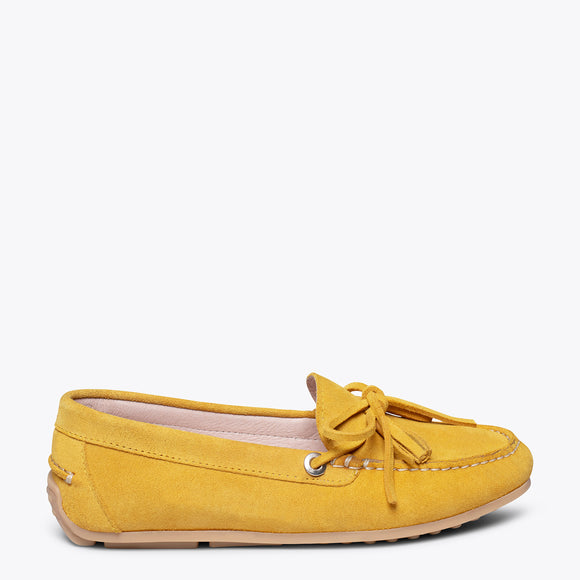 LACED LOAFER - YELLOW loafer